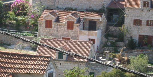 Old stone house for renovation, Brac island