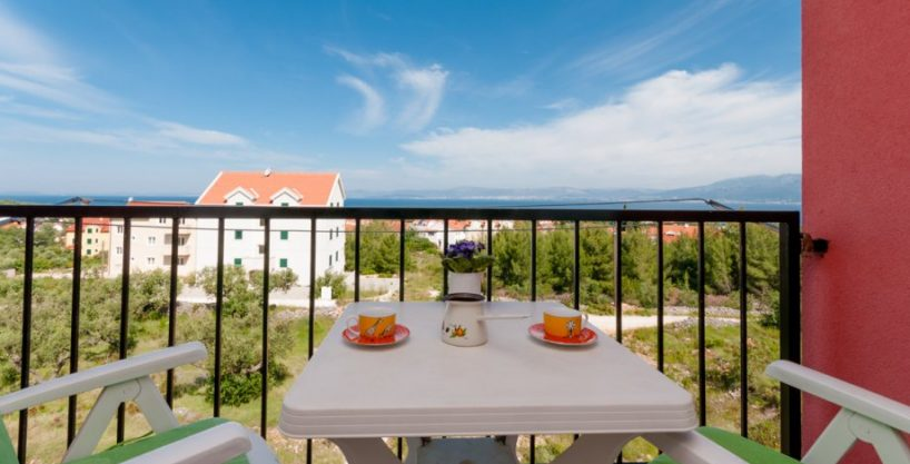 One bedroom apartment with sea view in Supetar