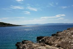 Building plot in beautiful location on seafront, Brac island
