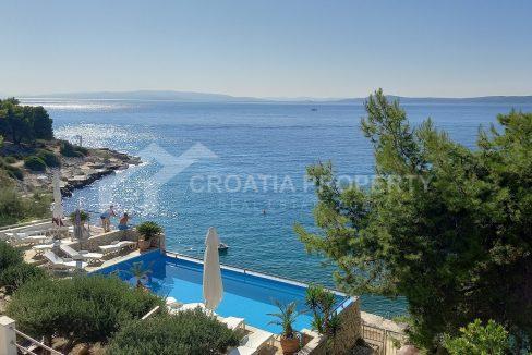 Villa seafront Ciovo - 1245 - pool view (1)