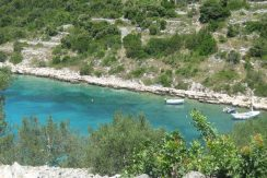 Building plot with lovely sea view, island of Korcula