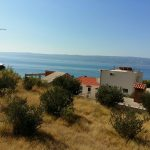Building plot with nice seaview near Omis