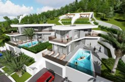 Building plot with sea view 662 m2
