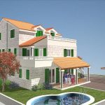 House in beautiful location in Milna, Brac island