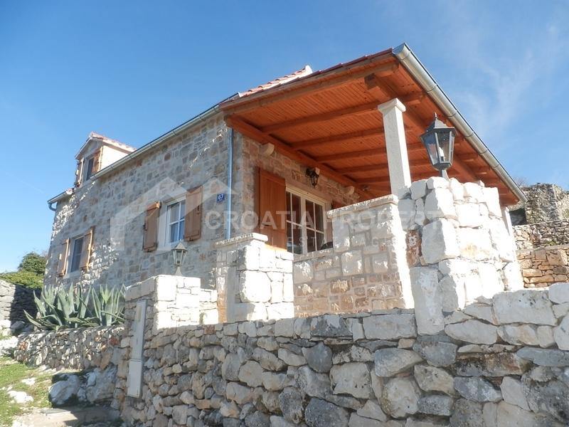Renovated stone house on Brac