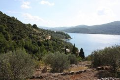 Building plot with beautiful sea view, Korcula