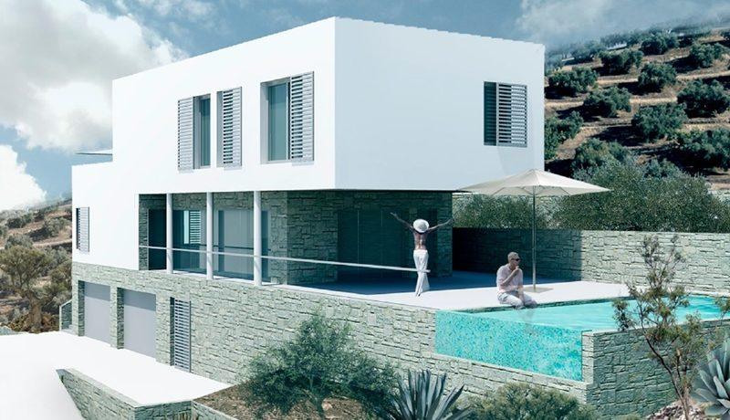 Villa with sea view, Ciovo island