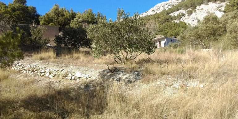 building plot for sale omis (2)