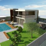 Modern villa with pool for sale, Sibenik