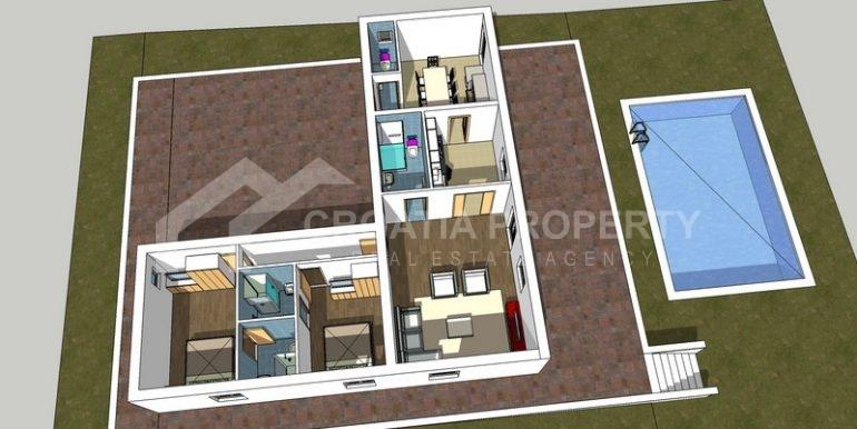 building plot Milna Brac island (1)