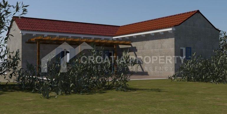 building plot Milna Brac island (2)