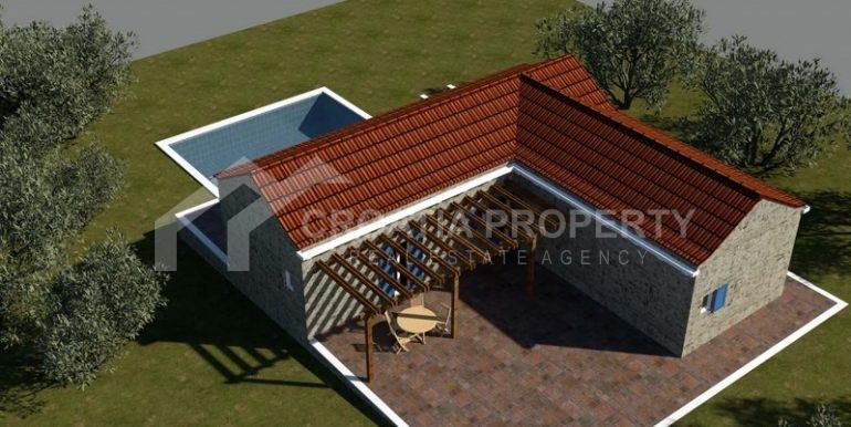 building plot Milna Brac island (4)
