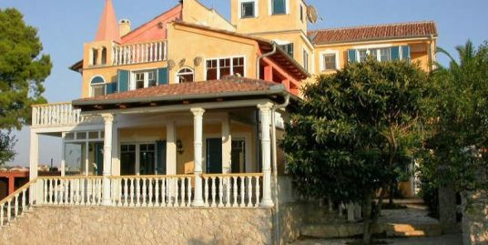 Villa overlooking sea near Zadar