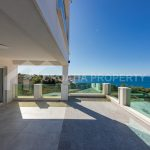 Villa with beautiful sea view near Rogoznica - 1709 - terrace (1)