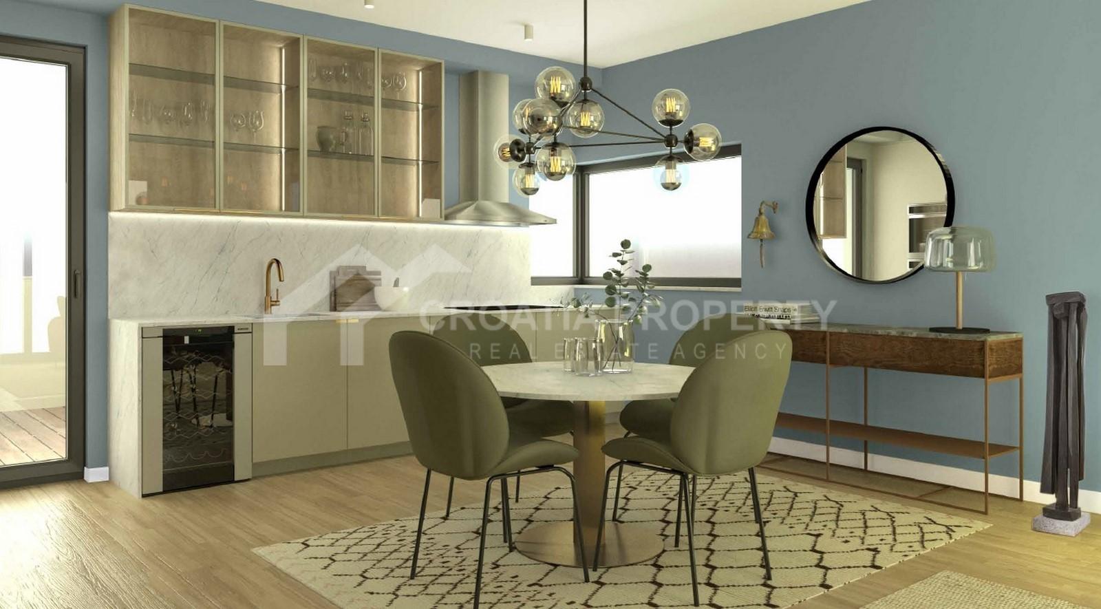 Luxury new build apartment Sibenik