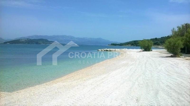 Wohnung auf der Insel Ciovo, erste Reihe zum Meer