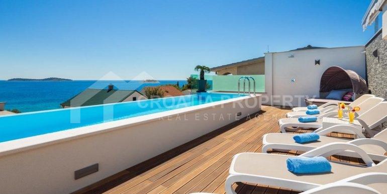 Villa with beautiful seaview, Rogoznica (21)