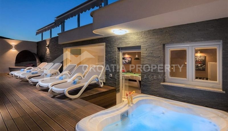 Villa with beautiful seaview, Rogoznica (3)