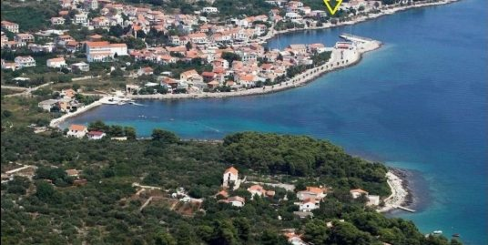 Fantastic seafront building land for sale Hvar, in Sucuraj
