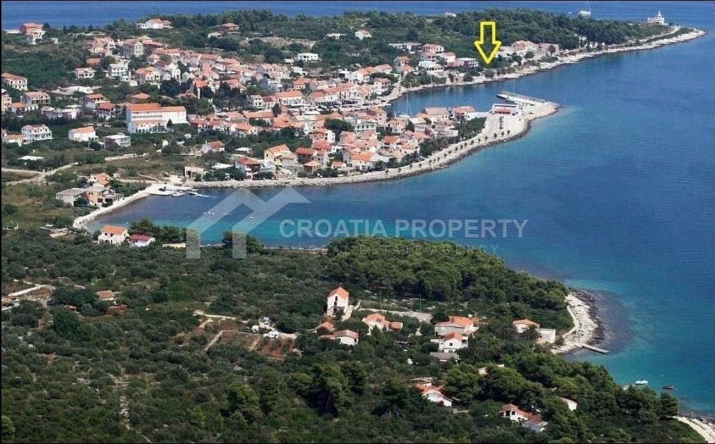 Fantastic seafront building land for sale Hvar, in Sucuraj