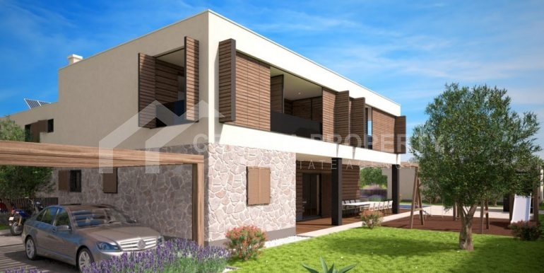 Land with project for six villas (1)