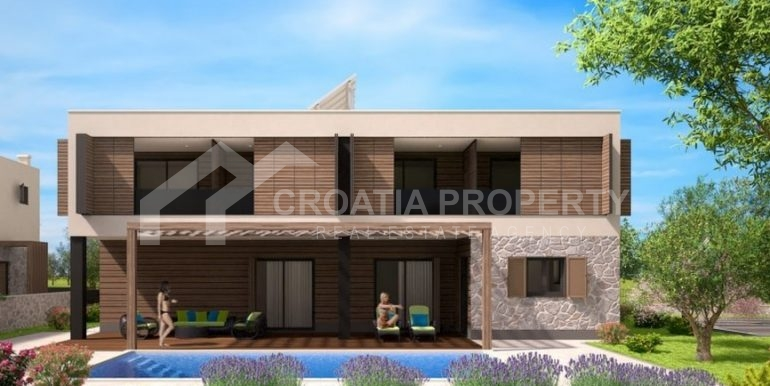 Land with project for six villas (2)