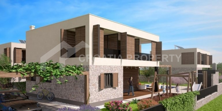 Land with project for six villas (3)