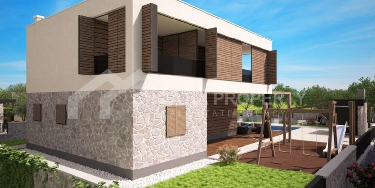 Land with project for six villas (5)