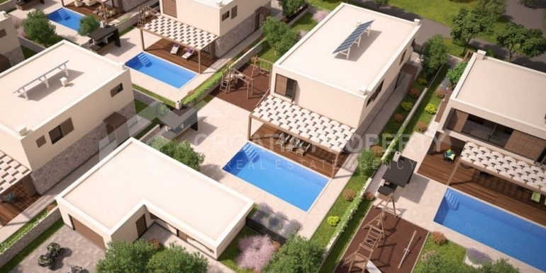 Land with project for six villas