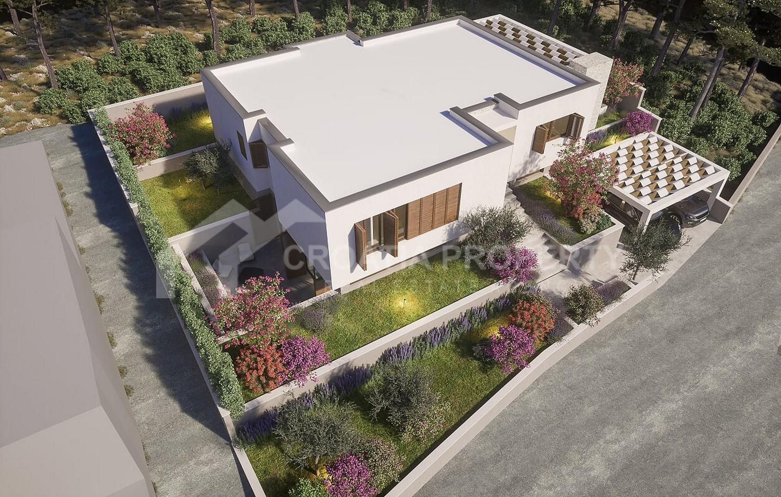 Luxury new villa for sale Brodarica