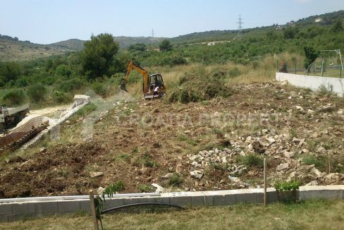 A building plot in Kaštela for sale -