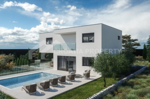 Luxury new villa near sea Rogoznica - 1980 - villa with pool (1)