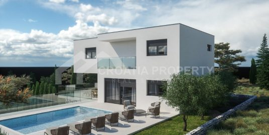 Luxury new villa near sea Rogoznica