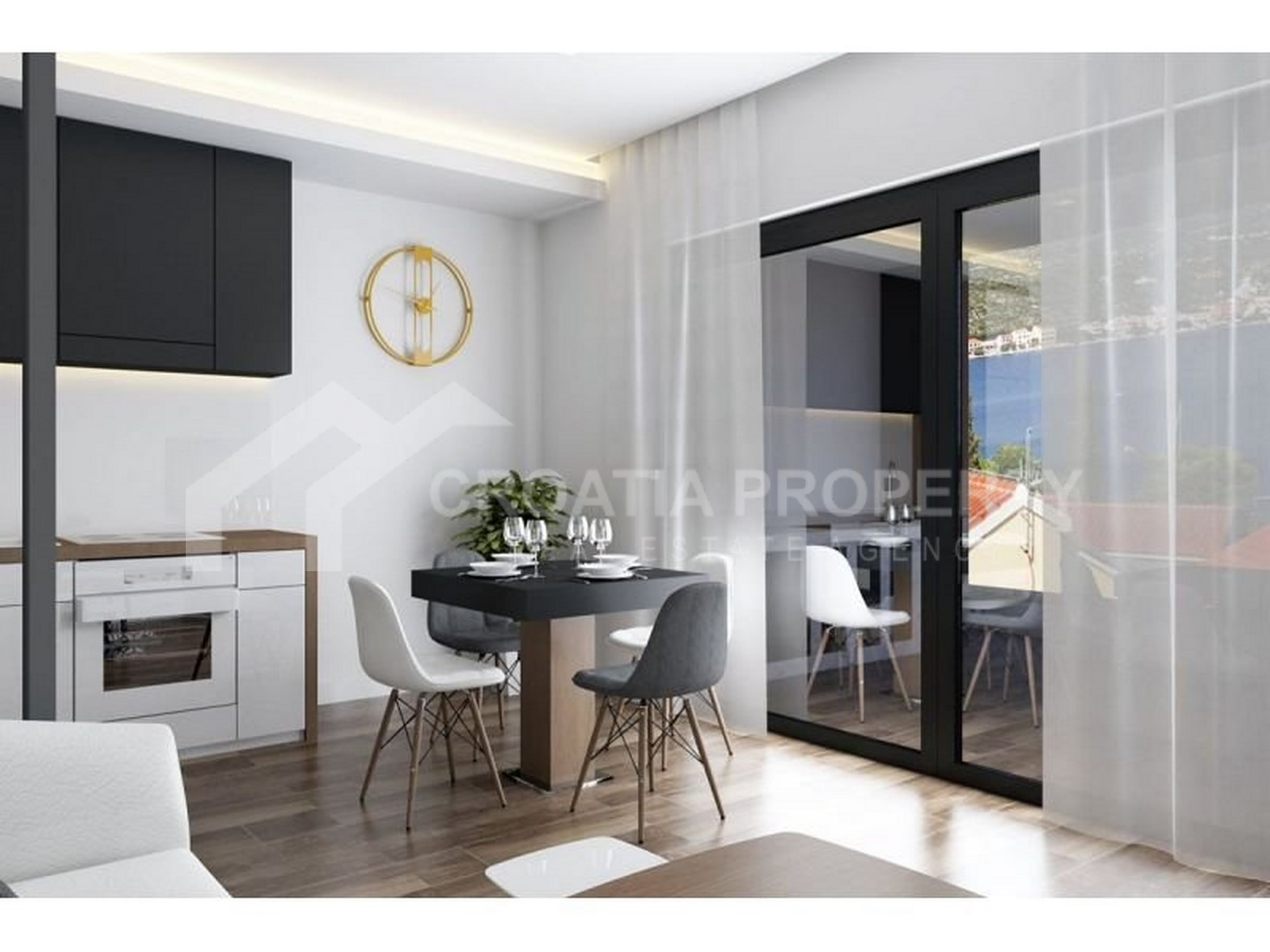 An excellent apartment for sale Rogoznica