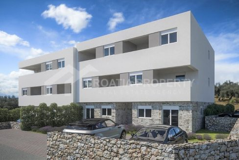 Penthouse apartment near Šibenik - 2010 - frontview (1)