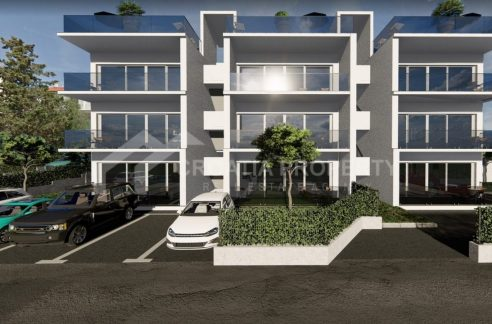 Apartments near the sea on Ciovo - 2018 - front view (1)