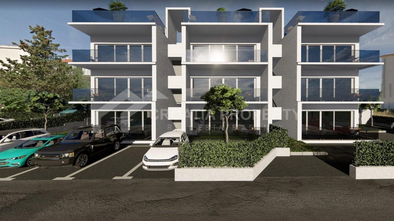 Penthouse apartments on Ciovo