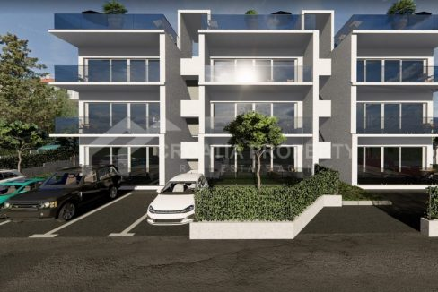 Apartments near the sea Ciovo - 2017 - front view (1)