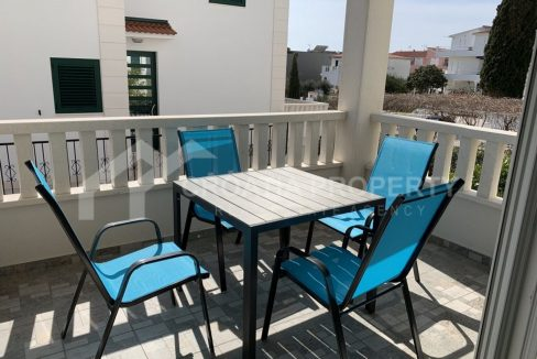 Lovely seaview apartment Rogoznica - 2011 - terrace (1)