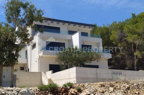 Attractive detached house in Slatine - 2039 - front view (1)