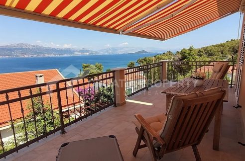 Seaview house with garden Ciovo - 2048 - view (1)