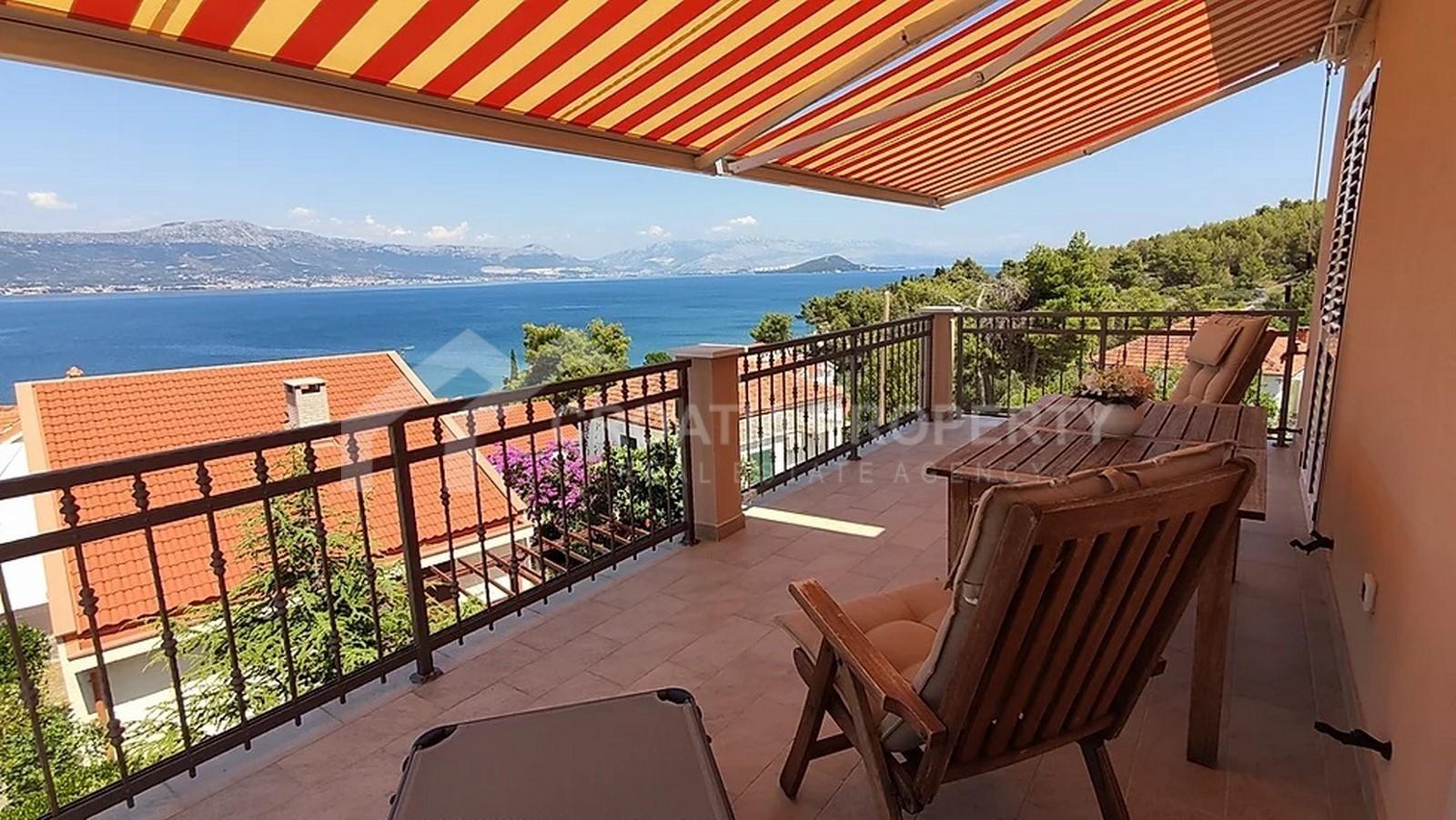 Seaview house with garden Ciovo