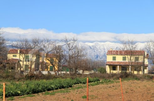 Beautiful newly built houses near Zadar - 2052 - mountain view (1)