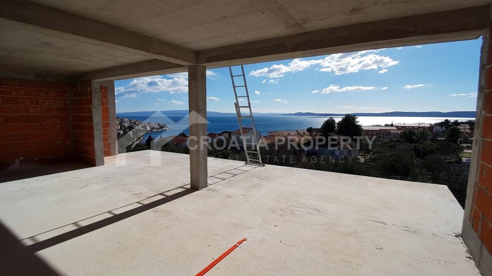 Penthouse apartment sea view Ciovo