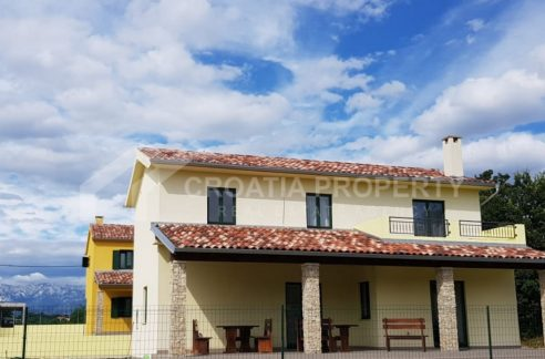 Lovely new houses near Zadar - 2053 - front view (1)