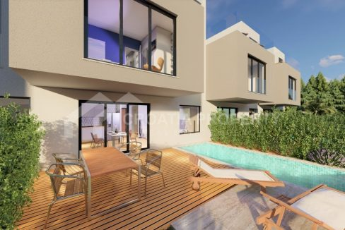 Modern villas with seaview Ciovo - 2030 - view (1)