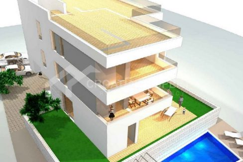 Attractive apartments near sea Ciovo - 2035 - air view (1)