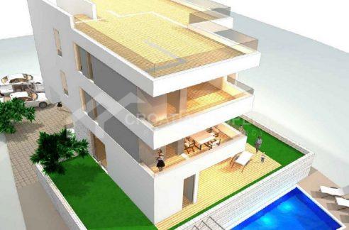 Attractive apartments near sea Ciovo - 2035 - air view (1)
