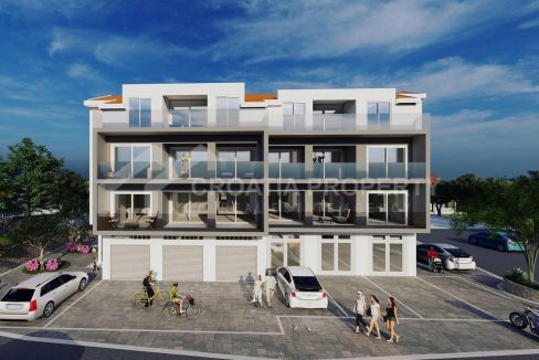 New apartments near sea Ciovo - 2027 - front view (1)