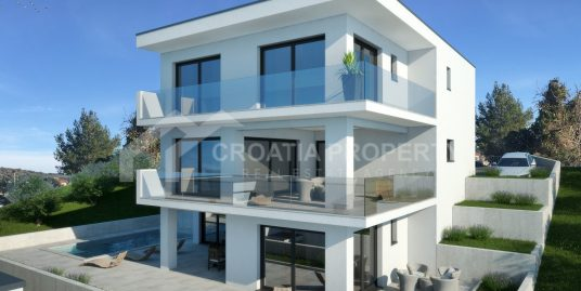 Seaview villa near sea Rogoznica